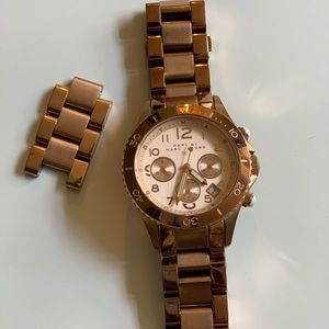 Marc Jacobs 38mm rose gold watch